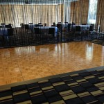 Parquetry floor in oak